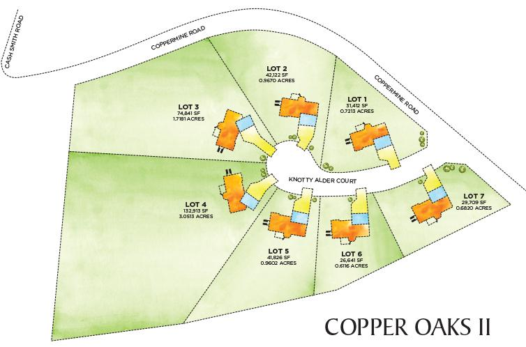 Copper Oaks II Site Plan Proof