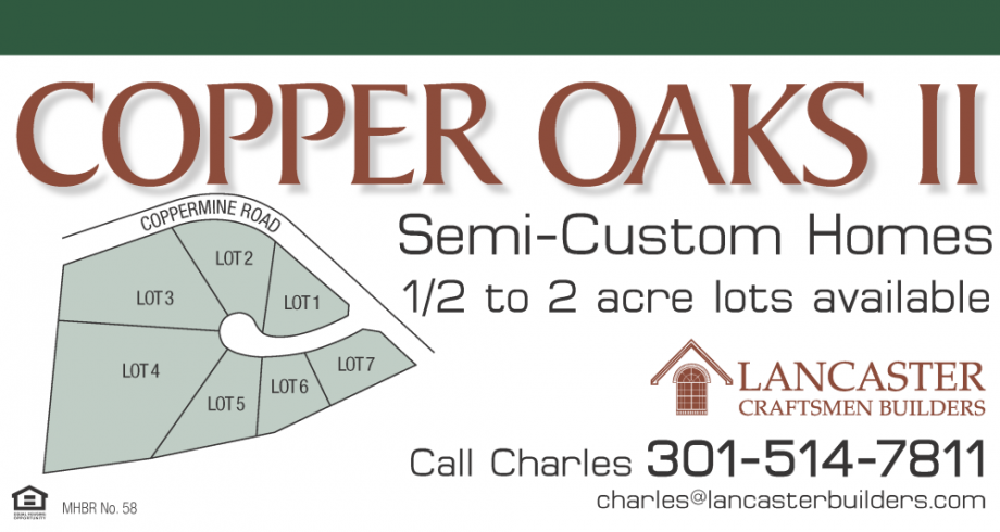 Copper Oaks Sign