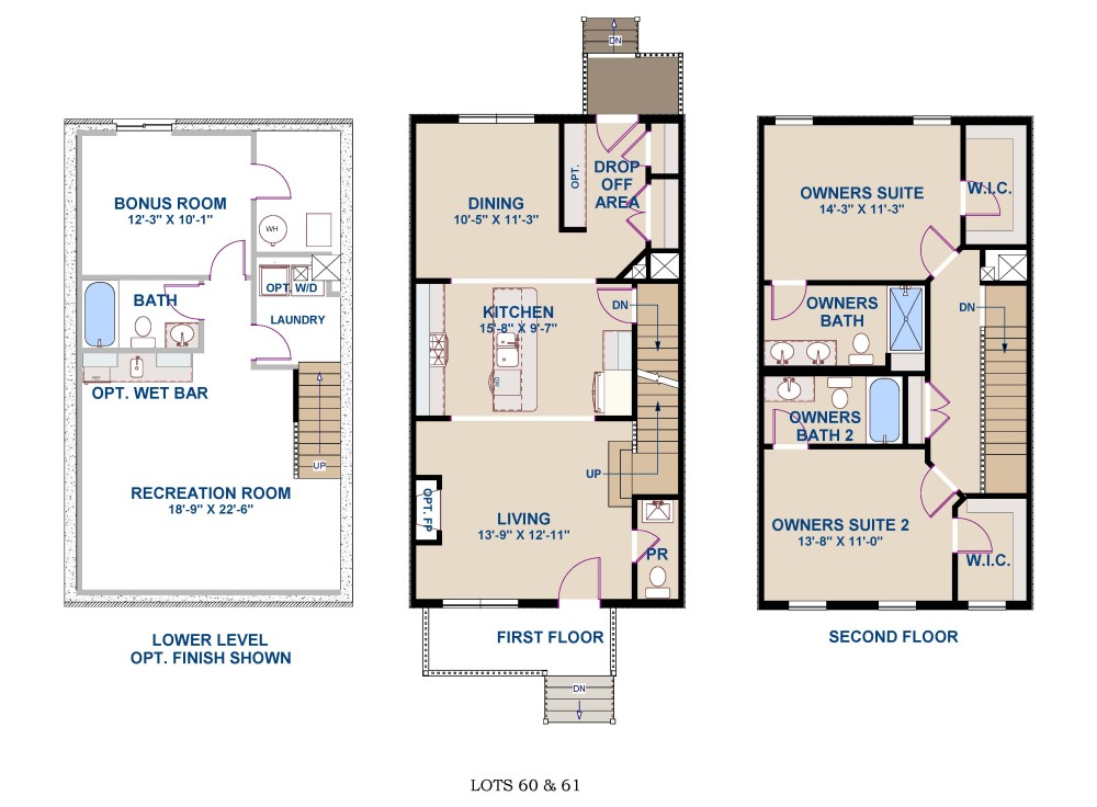 Brochure Floorplans Lots 60-61 6-21-2017